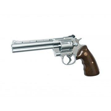 Gas revolver 357 Silver.