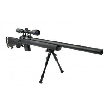 Fusil Sniper modelo MB4404D de la marca Well. Black