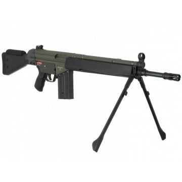 Sniper rifle model G3 SG1 of J & G brand.