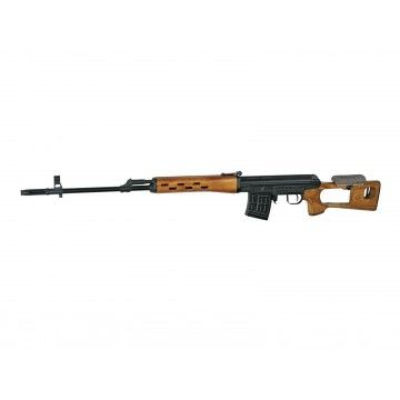 Sniper rifle DRAGUNOV model brand CYMA wood.