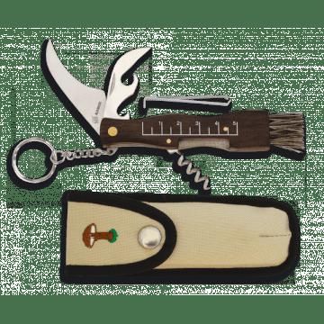 Knife work for mushroom Albainox with wooden handle