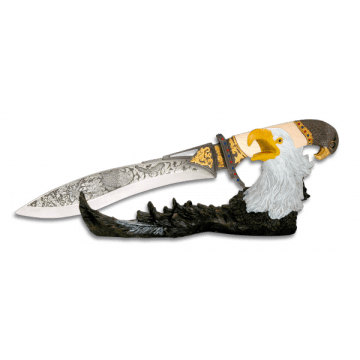 Cuchillo fantasía Aguila Tole 10 en caja.
