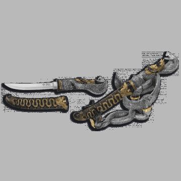 Cuchillo fantasía Tole 10 Cobra en caja.