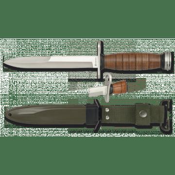 30 cm langes Messer Bajonett Albainox