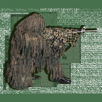 Traje táctico de camuflaje Camosystem pantano