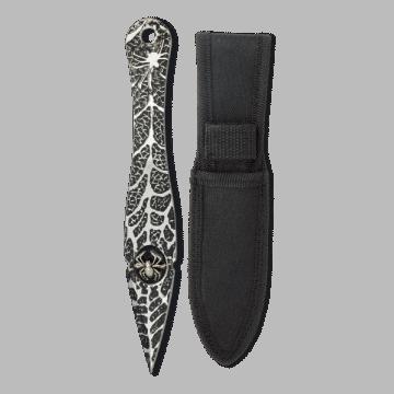 Cuchillo lanzador Albainox con funda de nylon