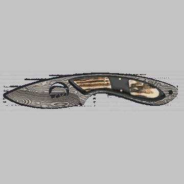 Cuchillo de ornamento Tole 10 con estuche de madera.