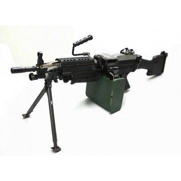 Arma eléctrica de apoyo AEG M249 MK2, de la marca A&K