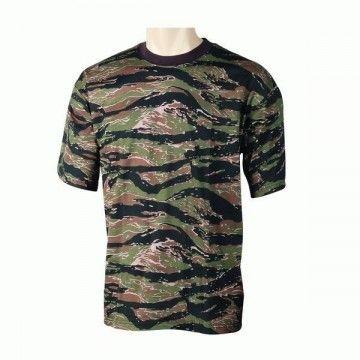 camiseta de camuflaje Tiger Vietnam