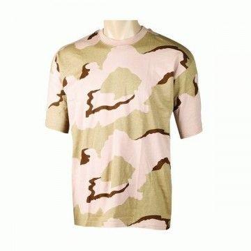 Camiseta de camuflaje Desert Turtle