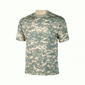 camiseta de camuflaje Digital Green