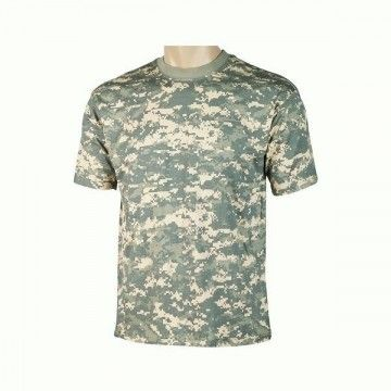 camiseta de camuflaje Digital Green