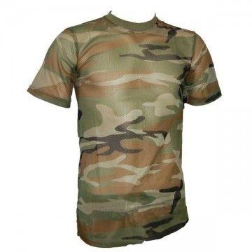 Camiseta de camuflaje Tipo rejilla de MILTEC Green