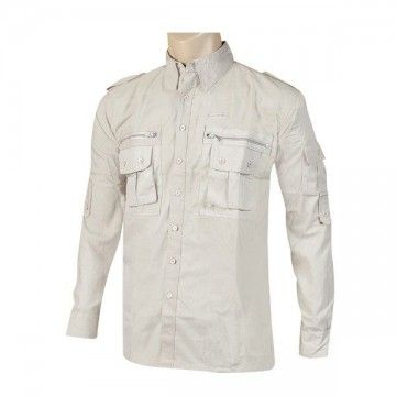 Camisa militar Tipo Cadet beige