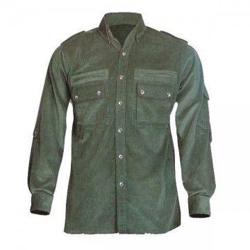 Camisa militar de pana Tipo Cadet