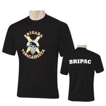 Camiseta BRIPAC del Ejérctio Español - Negro
