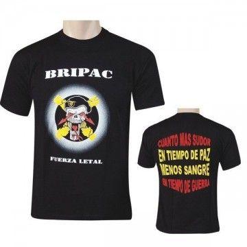 Paratroops Brigade LETHAL-SKULL t-shirt