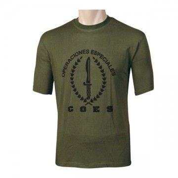 Camiseta C.O.E. Españolas, Verde