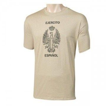 Camiseta Ejército de tierra Español beige