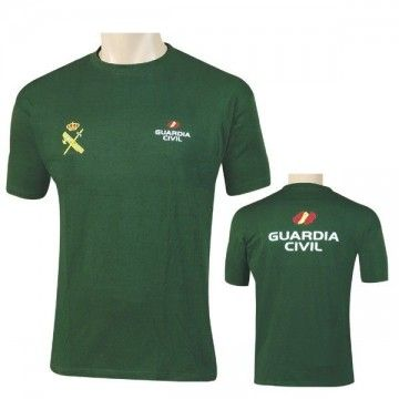 Camiseta de la Guardia Civil verde