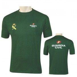 Camiseta de la Guardia Civil verde