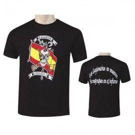 Camiseta de la Legión negra Calavera