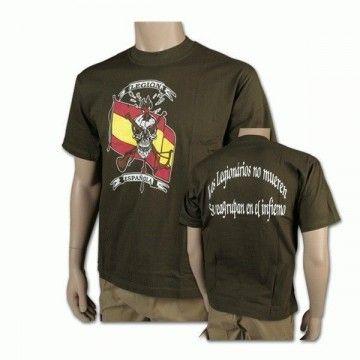 Camiseta Legión Española verde