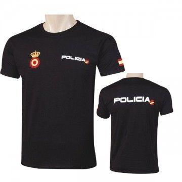 Camiseta Policía Nacional para hombre