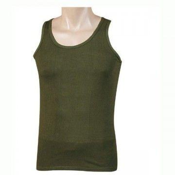 Green strapless shirt