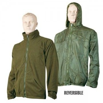 Chaqueta polar-impermeable reversible