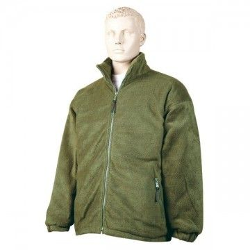 Green quilted Nanuk fleece type jacket