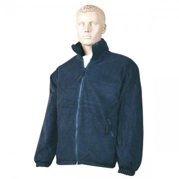 Blue padded Nanuk fleece type jacket