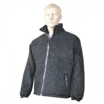 Black padded Nanuk fleece type jacket