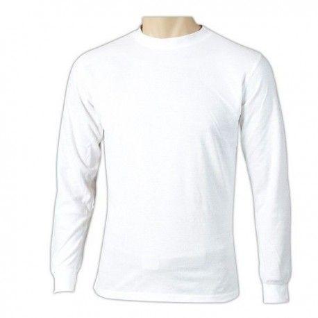 7fa405a610 Camiseta térmica manga larga blanca - Annack Militar