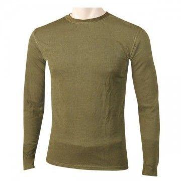 Camiseta térmica manga larga verde