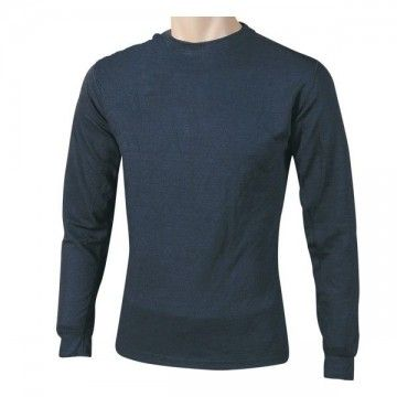Blue long sleeve thermal t