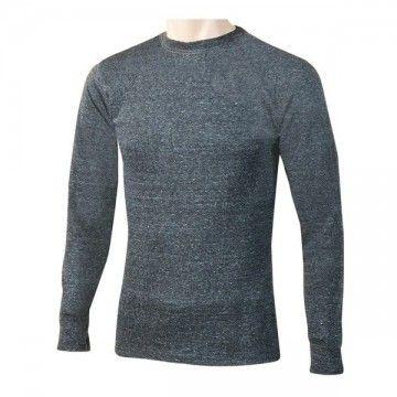 Camiseta térmica manga larga gris