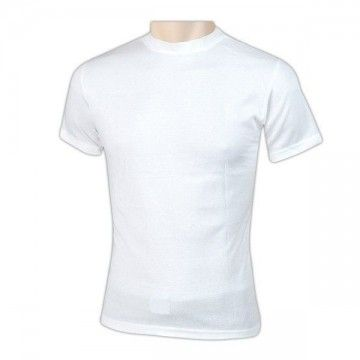 White short sleeve thermal t-shirt