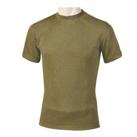 28147db457 Camiseta térmica de manga corta en color verde - Annack Militar