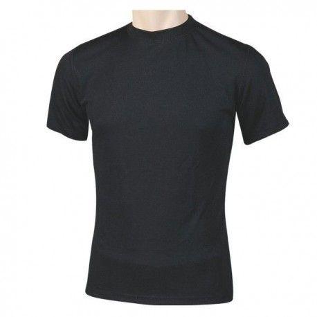 Camiseta térmica manga corta negra