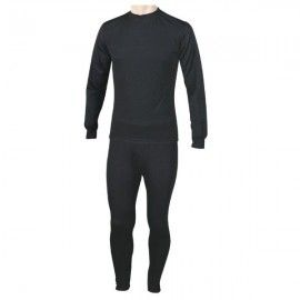 Thermal suit two pieces of the FORAVENTURE brand. Black