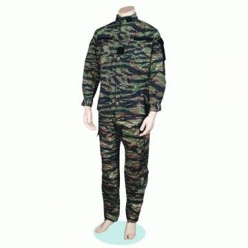 Military uniform of camouflage for airsoft, type Tiger Viet Nam