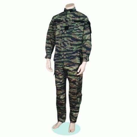 Militärische Uniform der Tarnung für Airsoft, Typ Tiger Viet Nam