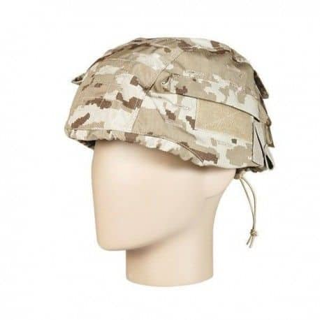 Funda para casco tipo árido pixelado
