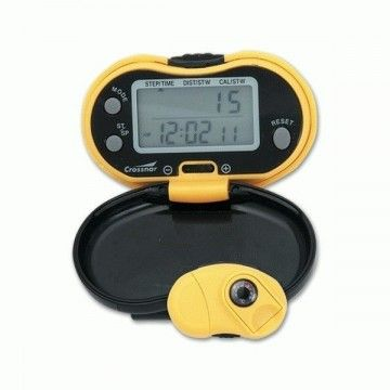 Pedometer + thermometer. Crossnar.