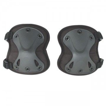 Pair of knee pads Airsoft of black.