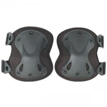 Black Airsoft tactical Kneepads.