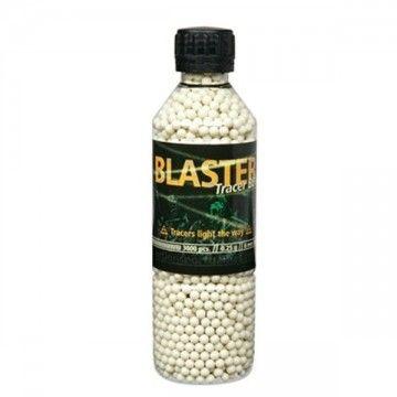 Botella de 3000 BBs trazadoras de 0.25 g. Blaster