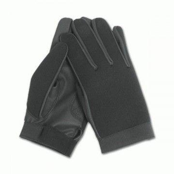 Black neoprene gloves