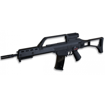 Electric rifle for airsoft, the G36K model replica, Mark Golden Eagle